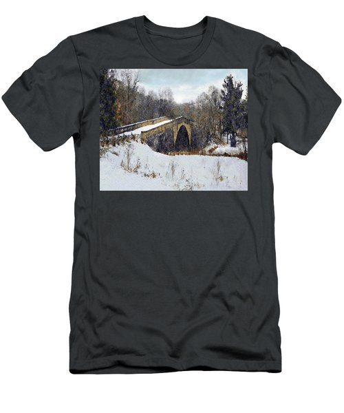 Casselman River Bridge Men's T-Shirt (Athletic Fit)