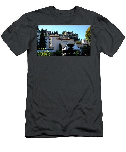 Cassis Town View Men's T-Shirt (Athletic Fit)