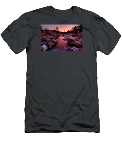 Caster River Shutins Men's T-Shirt (Slim Fit) by Robert Charity