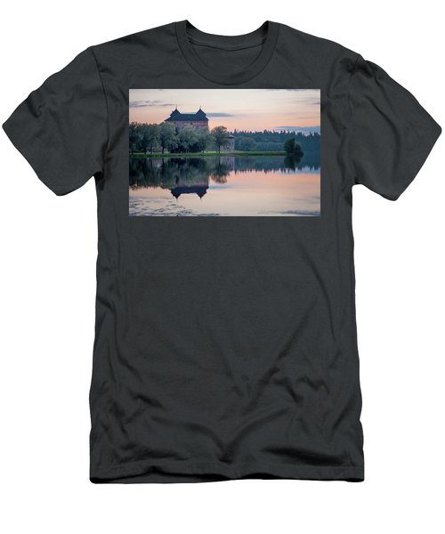 Castle After The Sunset Men's T-Shirt (Athletic Fit)