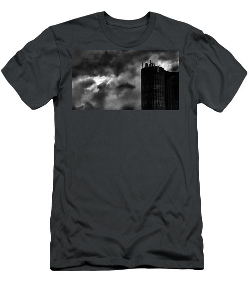 Castle In The Clouds Men's T-Shirt (Athletic Fit)