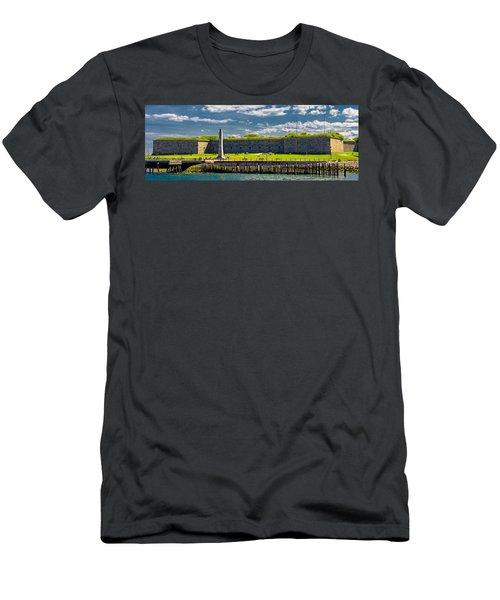 Castle Island Men's T-Shirt (Athletic Fit)