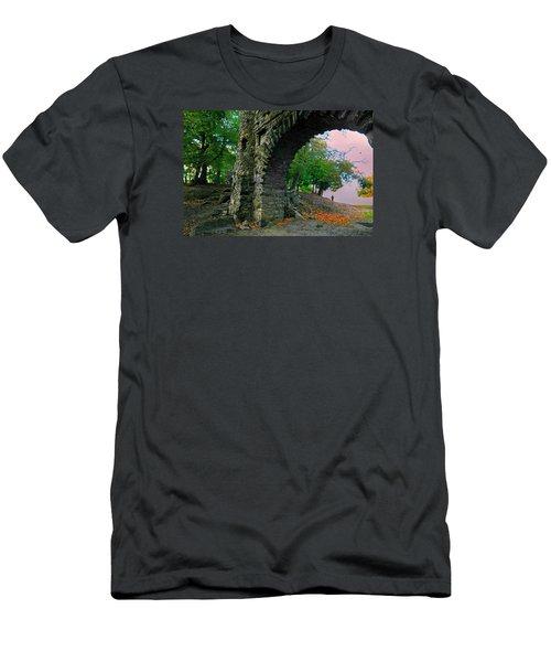 Castle Ramparts Men's T-Shirt (Athletic Fit)