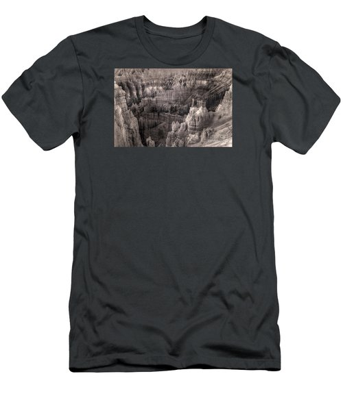 Men's T-Shirt (Slim Fit) featuring the digital art Castles Made Of Sand In The Hoodoos  by William Fields