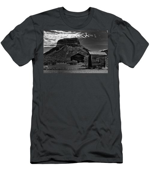 Castolon Ghost Town Men's T-Shirt (Athletic Fit)
