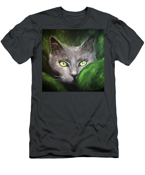 Cat Eyes Men's T-Shirt (Athletic Fit)
