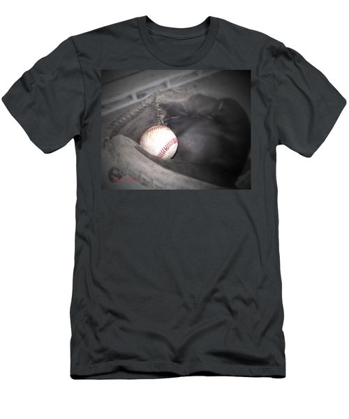 Men's T-Shirt (Slim Fit) featuring the photograph Catch Me by Shana Rowe Jackson