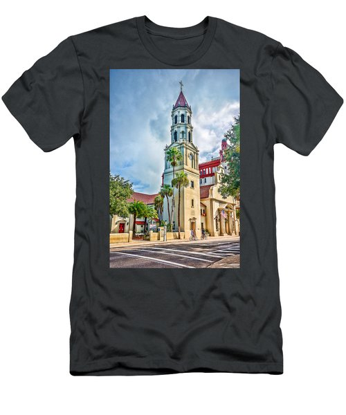 Cathedral Basilica Men's T-Shirt (Athletic Fit)