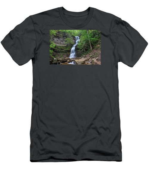 Cathedral Falls Men's T-Shirt (Athletic Fit)
