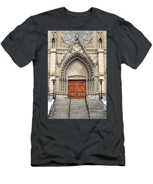 Cathedral Of St Helena Men's T-Shirt (Athletic Fit)