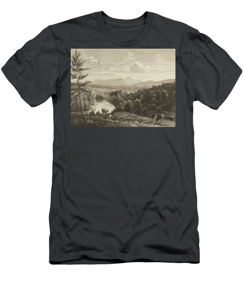 Catskill Mountains Men's T-Shirt (Athletic Fit)