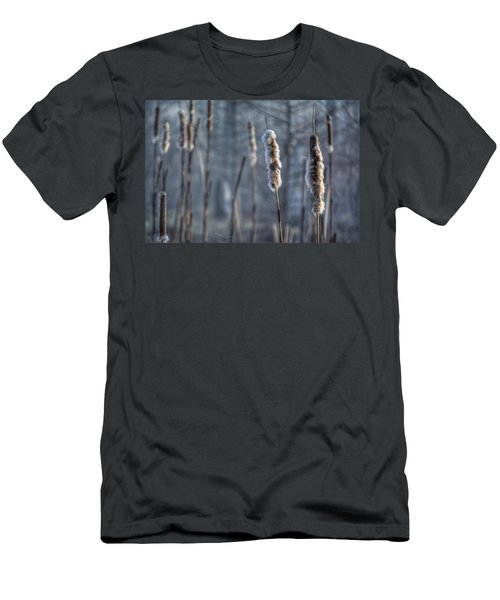 Cattails In The Winter Men's T-Shirt (Athletic Fit)