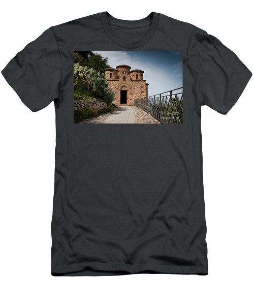 Men's T-Shirt (Slim Fit) featuring the photograph Cattolica Di Stilo by Bruno Spagnolo