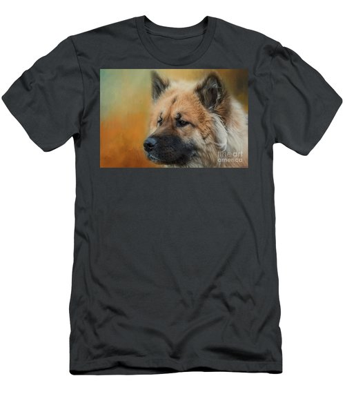 Caucasian Shepherd Dog Men's T-Shirt (Slim Fit) by Eva Lechner