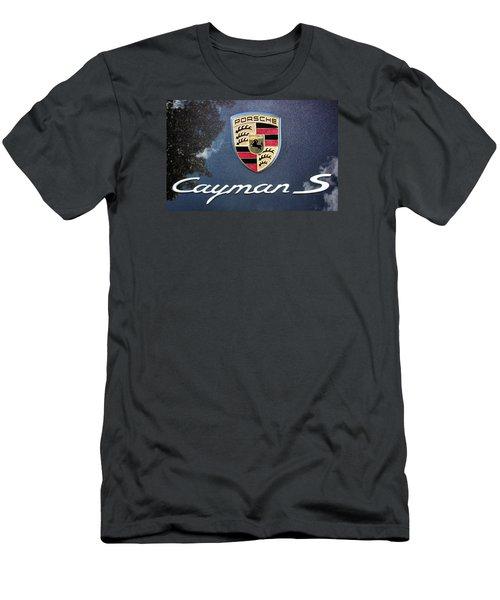 Cayman S Men's T-Shirt (Slim Fit) by Kristin Elmquist