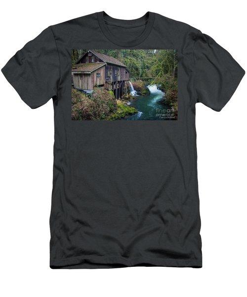 Cedar Grist Mill Men's T-Shirt (Athletic Fit)