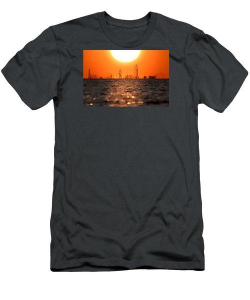 Cedar Point Skyline 2 Men's T-Shirt (Athletic Fit)