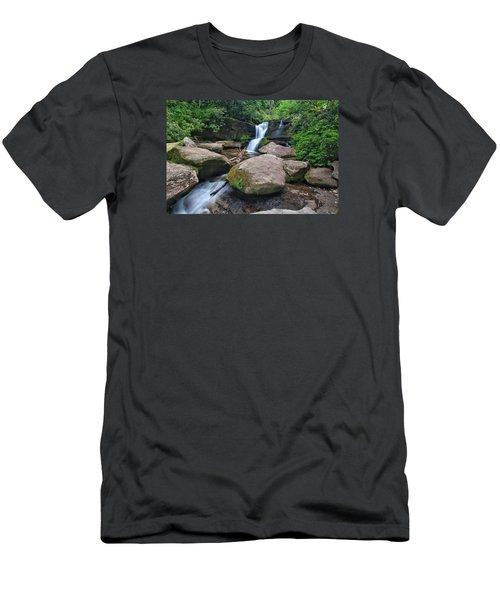 Cedar Rock Falls Men's T-Shirt (Athletic Fit)