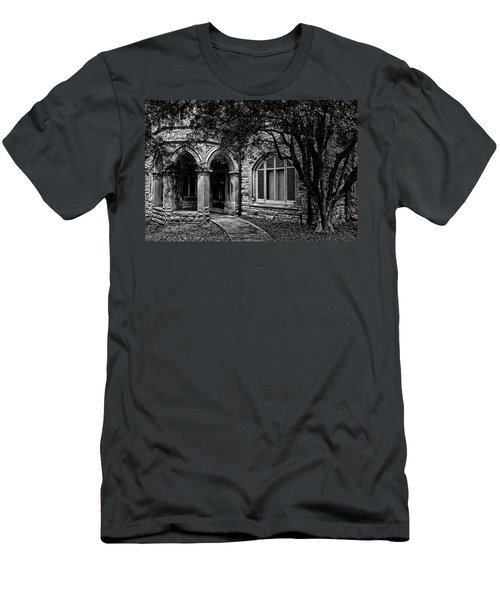 Men's T-Shirt (Slim Fit) featuring the photograph Cedarhyrst by Jessica Brawley