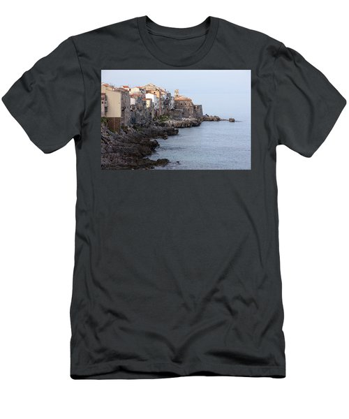 Cefalu, Sicily Italy Men's T-Shirt (Athletic Fit)