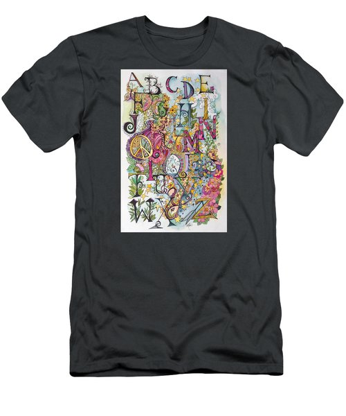 Celebrate Men's T-Shirt (Slim Fit) by Claudia Cole Meek