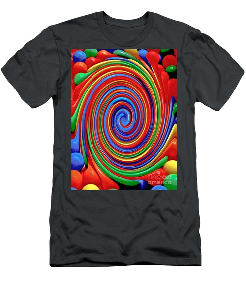 Celebrate Life And Have A Swirl Men's T-Shirt (Athletic Fit)