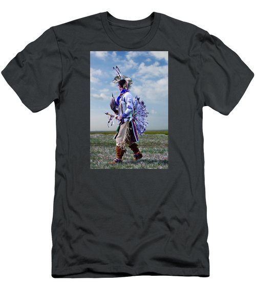 Celebrate The Dance Men's T-Shirt (Slim Fit) by Karen McKenzie McAdoo