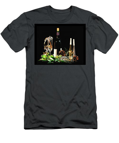 Men's T-Shirt (Slim Fit) featuring the photograph Celebration by Diana Angstadt