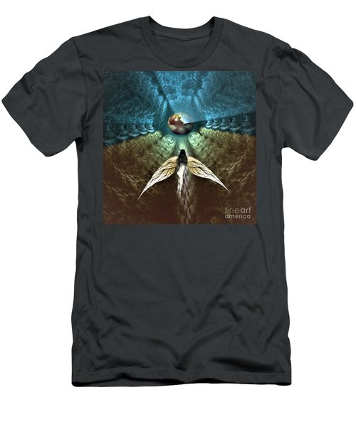Celestial Cavern Men's T-Shirt (Athletic Fit)