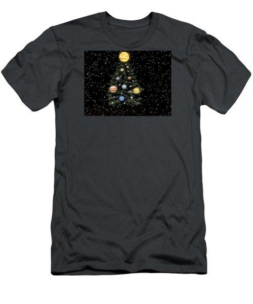 Celestial Christmas Men's T-Shirt (Slim Fit) by Michele Wilson