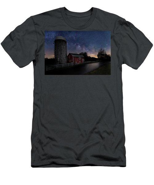 Men's T-Shirt (Slim Fit) featuring the photograph Celestial Farm by Bill Wakeley