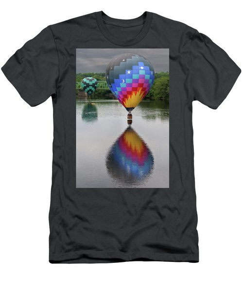 Celestial Reflections Men's T-Shirt (Athletic Fit)