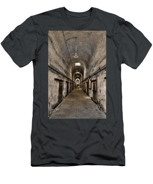Cell Block  Men's T-Shirt (Athletic Fit)