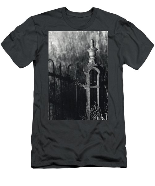 Cemetery  Fence Men's T-Shirt (Athletic Fit)