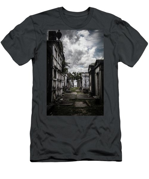 Cemetery Row Men's T-Shirt (Athletic Fit)