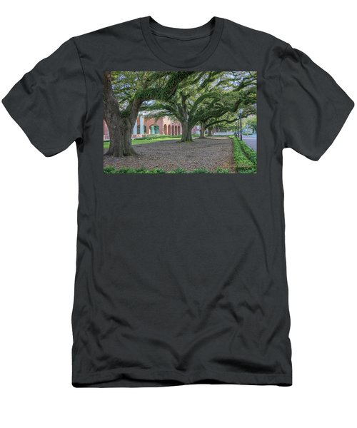 Men's T-Shirt (Slim Fit) featuring the photograph Centennial Oaks by Gregory Daley  PPSA