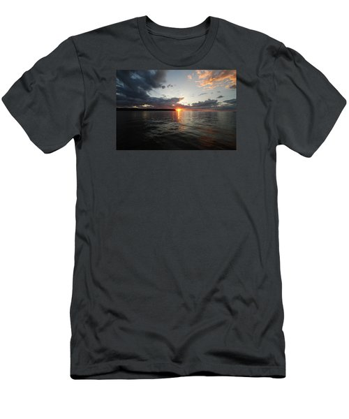 Center Of Attention Men's T-Shirt (Athletic Fit)