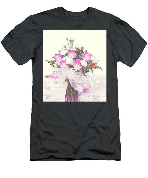 Centerpiece Men's T-Shirt (Slim Fit) by Inspirational Photo Creations Audrey Woods