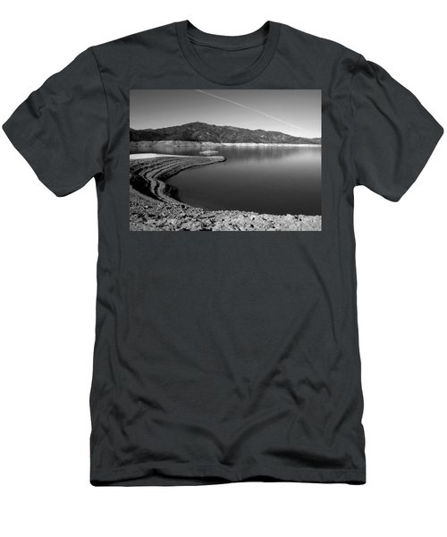 Men's T-Shirt (Slim Fit) featuring the photograph Centimudi In Black And White by Joyce Dickens