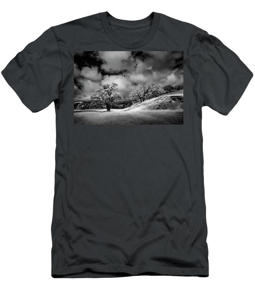 Men's T-Shirt (Slim Fit) featuring the photograph Central California Ranch by Sean Foster