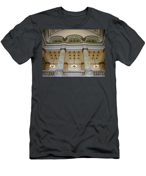 Central Library Milwaukee Interior Men's T-Shirt (Athletic Fit)