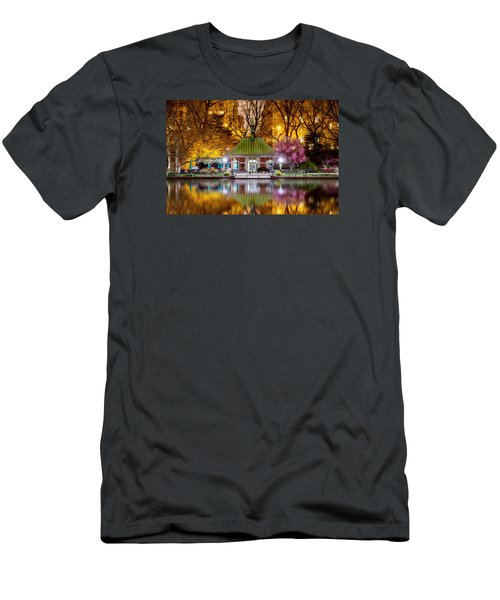 Central Park Memorial Men's T-Shirt (Slim Fit) by Az Jackson