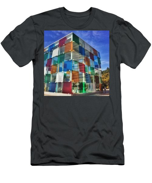 Centre #pompidou #malaga #museo #museum Men's T-Shirt (Athletic Fit)