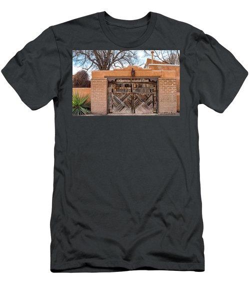 Cerrillos Gate Men's T-Shirt (Slim Fit) by Robert FERD Frank