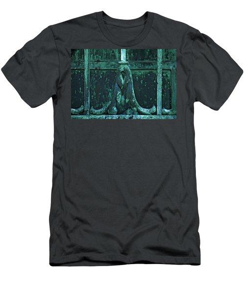 Certainty Men's T-Shirt (Slim Fit) by Rowana Ray