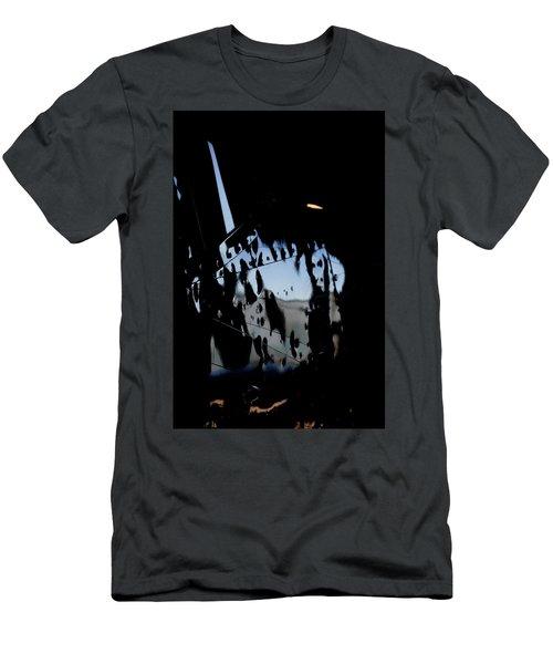 Men's T-Shirt (Slim Fit) featuring the photograph Cessna Art I by Paul Job