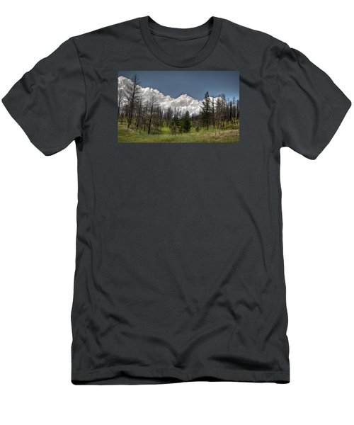 Chance Of Clouds Men's T-Shirt (Slim Fit)