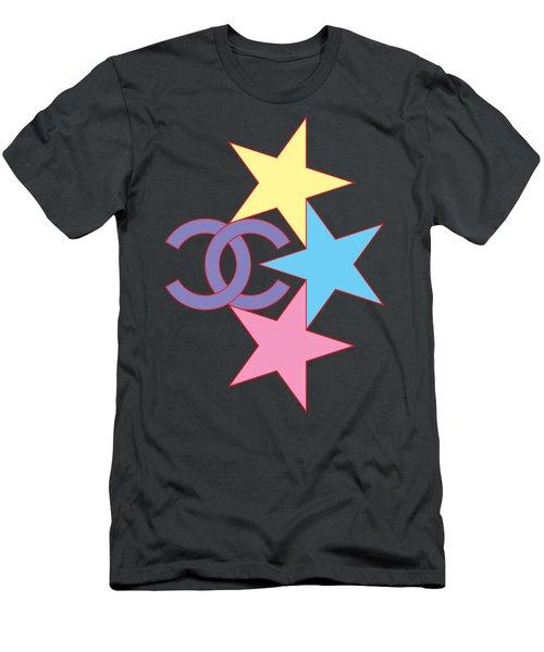 Chanel Stars-2 Men's T-Shirt (Athletic Fit)