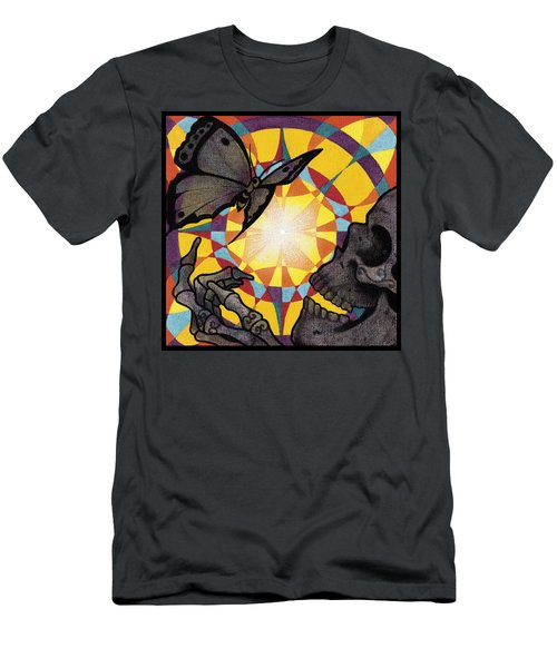 Change Mandala Men's T-Shirt (Slim Fit) by Deadcharming Art
