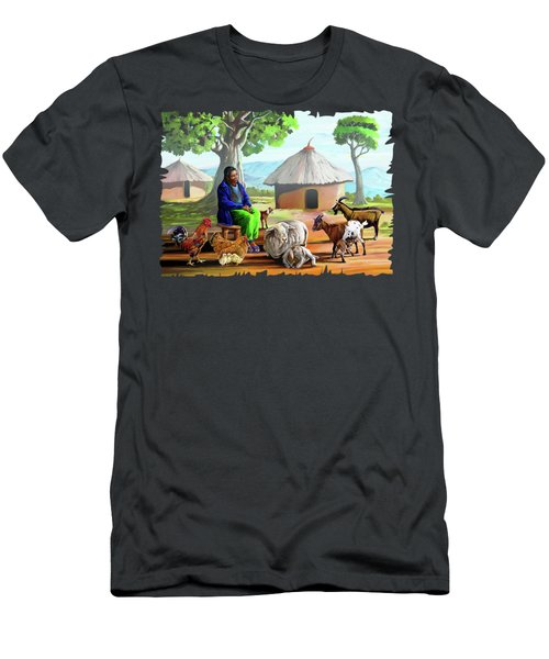 Change Of Scene Men's T-Shirt (Slim Fit) by Anthony Mwangi